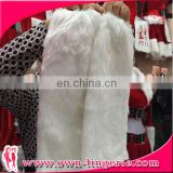 Adult decoration faux animal fur leg warmer,high quality long fur christmas leg warmers