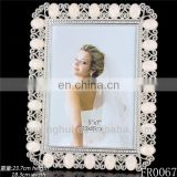 2014 photo frame silver plated photo frame, metal photo frame ornaments, wedding anniversary photo frame