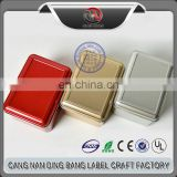 Wholesale Cheap High Grade Tin Material And Frost Type 3 Color 11*8cm Normal Metal Socks Box