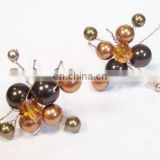 2013 newest fashion bridal crystal pearl hair pin