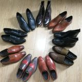 Mens handmade goodyear  dress shoes full genuine leather made
