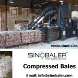 Compressed Bales from a Baler Machine