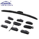 Multi-functional wiper blade with 13 adapters