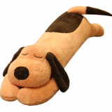 Puppy doll cute stuffed toy can be removed and washed men's and women's sleeping pillow on the big doll