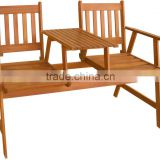 New design Jack &Jill Bench - 100% FSC wooden bench - Perfect Quality - Oil finished - Good Price