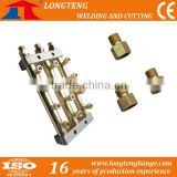 13 Outlet Gas Distributor for CNC Cutting Machine with brass fitting,cnc cutting machine gas regulating system