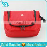 Fashion Red 1680D Travel Toiletry Bag Portable Hanging Travel Toiletry Bag Family Travel Toiletry Bag 2015