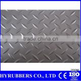China manufacturer diamond plate rubber,diamond plate floor mats