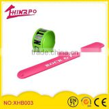 Customize Slap Wrap Bracelet silicone rubber band