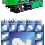 PE PP PVC PPR pipe fitting making Machine