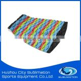 OEM Colorful Combination Tail Pads, EVA Traction Pad, Deck Pad, Grip Pad, Grooves, Curve Cut