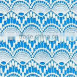 french fabric style fabric crochet cotton water soluble lace chemical cotton lace fabric