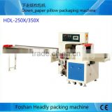 tissue paper cutting and packing machine with PLC control