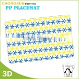 Cheap price 3d printing custom plastic placemats
