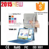 Multi-function Hand-on Rotation with pen holder leather cute flip tablet cover for lg tablet YNK-31