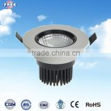 IP 65 aluminium die casting led down light spare parts,round,9-12w,3 inch,China supplier                                                                         Quality Choice