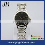 Japan import movt quartz side-wrapped stainless steel solid band wholesale alloy watches