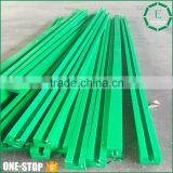 Factory customizing high precision linear guide plastic tivar1000 nylon rail Guide by CNC machine