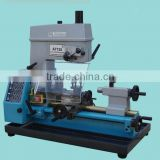 mini multi-purpose combo lathe mill drill head combo lathe machine