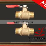 Brass Ball Valves with welding connector