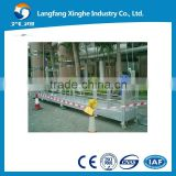hot galvanized / aluminium alloy the window cleaning platform / glass clean tools / building cleaning tools
