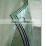 Float Glass Type and Decorative Glass,Heat Reflective Glass,Bulletproof Glass Function curved glass