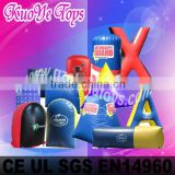 inflatable laser tag, paintball bunkers