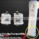 NEW WHITE MOTIONPLUS MOTION PLUS FOR WII REMOTE CONTROLLER