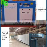For saling Using diesel fuel paper pulp egg tray production line equipped with metal drying line