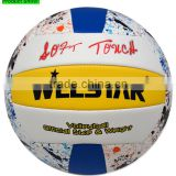 volleyball manufacturers logo design high quality training volleyball ball custom soft cheap price beach volleyball ball