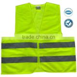ANSI standard yellow safety vest