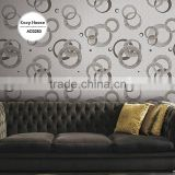 on sale embossed vinyl coated wall paper, trendy polka dot wall paper for shop , strippable wall decal ideas