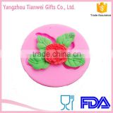 Wholesale Flower Shape Baking Silicone Cupcake Mold