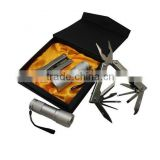 Multi tool Pliers with Flashlight Kit in gift box