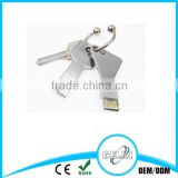 High Quality 8G Key Shape USB Flash Drive With Magnet Box