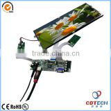 12.3 inch 1920x720 pixels LVDS TFT wide operating temperature range lcd