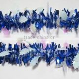 2015 Blue Christmas Hanging Tinsel Garland/Xmas Decorations