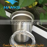 stainless steel double wall tumbler with lid/ insulated rambler/travel mug for cold drinking