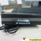 Popular model in SOUTH AMERICA RF MODULATOR Audio Video Signal Converter AV To RF modulator RF816
