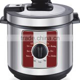 Zhongshan basic cheap 5L 6L 900w stainless steel housing multi functions rice meat mechanical mini electric pressure cookers