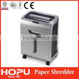 office high quality movable automatic shredder shredder 8 sheets paper