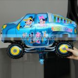 61*45cm cartoon car foil balloon for kids birthday gifts helium mylar balloon                                                                         Quality Choice