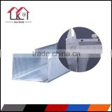 Galvanized drywall light steel frame/manufacturer drywall partition C U profile
