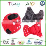 new style Bamboo charcoal reusable newborn baby cloth diaper china wholesale market