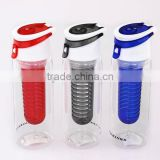 750ml Promotional BPA free Tritan water bottle,sport water bottle,fruit infuser water bottle