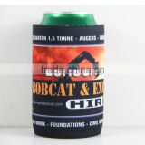 Full Color Printing Neoprene Rubber Beer Can Cooler Wrap For Budweiser
