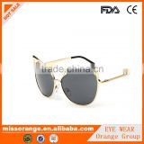 top quality custom cateye shaped sunglasses mirror sunglasses