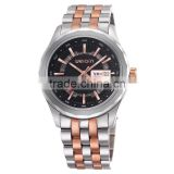 Man's 5atm Waterproof Watch With Sapphire Crystal and Solid Stainless Steel Case and Band