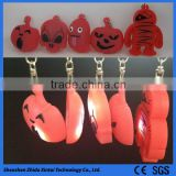 cute and fashion silicone rubber keychain machine