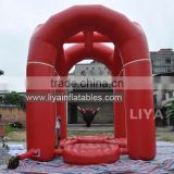 crocodile inflatable water bungee trampoline water games